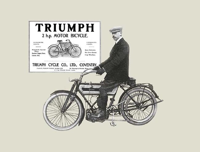 1907: 摩托车产量达到 1,000 辆