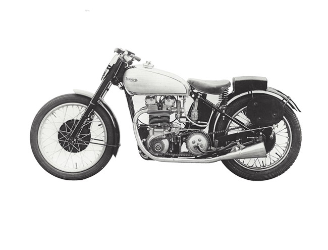 1946: TIGER 100、SPEED TWIN 和 3T